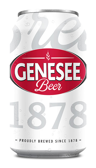 Genesee Beer can